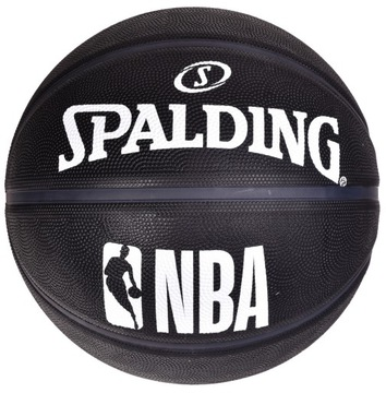 Spalding NBA Black 7 Streetball Basketball Ball