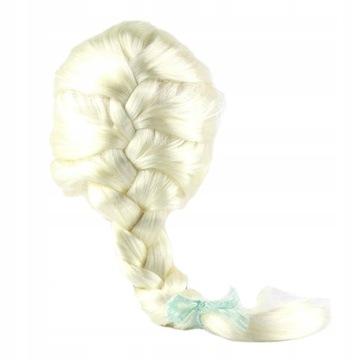 Parochňa Elza Elsa Outfit Disguise Hair Frozen II