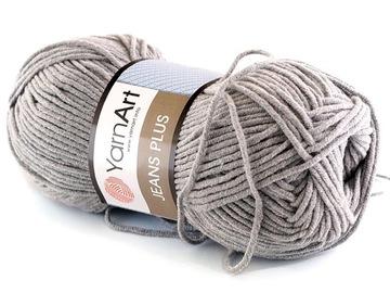 Jeans plus Yarnart Gray 46
