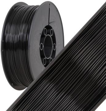 Fillament plast 1,75 mm Black 1kg plast-zváranie 3D tlač