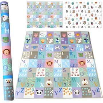Veľká penová rohož bilaterálny tepelný koberec 805