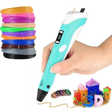 Pen 3D tlačiarne pero SET + MIX CARTERGE