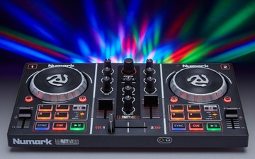 Controller Mixer DJ Numark Party Mix Pro 2 kanály
