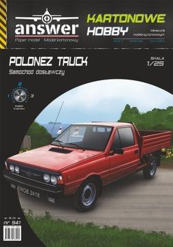 Polonez Truck Van, odpoveď, 1:25
