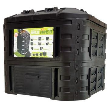Modulárna kompozitná 540L čierna modulárna hliadka