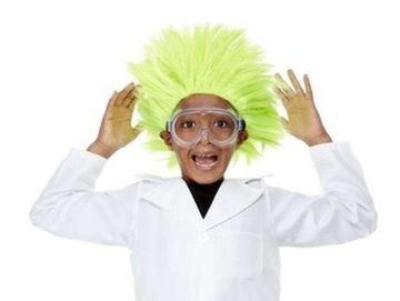 WIG GREEN CRAZY SCIENTIST SCIENTIST