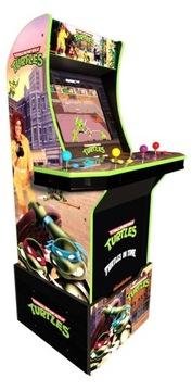 Arkády 1UP 4 hráč dospievajúci ninja korytnačky mutant