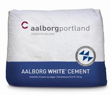 Cement White Aalborg White Portland CEM a 52.5r