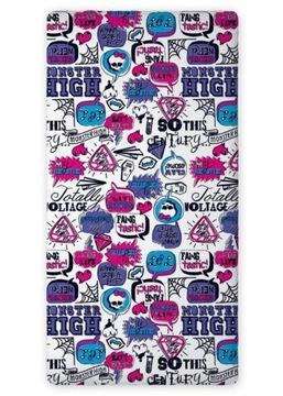 Posteľná plachta 160x200 Monster High