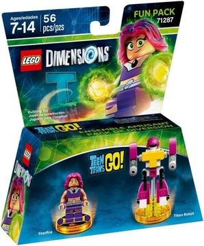 LEGO DIMENSIONS 71287 Mladiství titáni Starfire