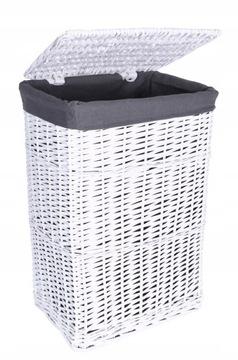 Prútený kôš na umývanie spodného prádla Oblečenie Kufer 72L