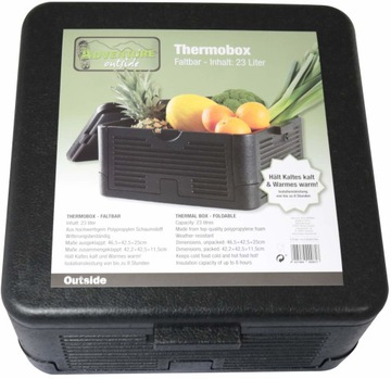 Termobox 23 litrov Termálne box 8 hodín