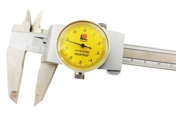 CLOCK CALIPER L150 0,01 mm Guanglu SHOCK-PROCES