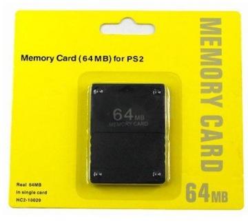 Nová pamäťová karta pre Sony Playstation2 PS2 64 MB