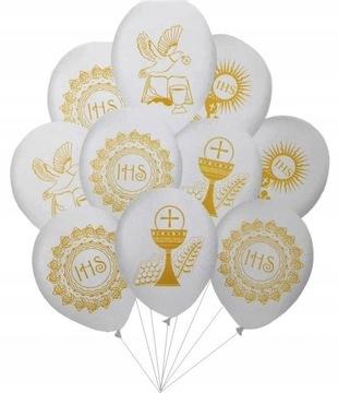 Súbor spoločenských balónov bielych spoločenských balónov