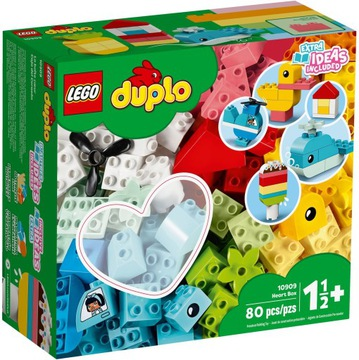 Lego Duplo Classic Box so srdcom 10909