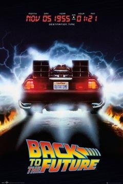 Späť na budúcu návrat do budúcnosti - plagát