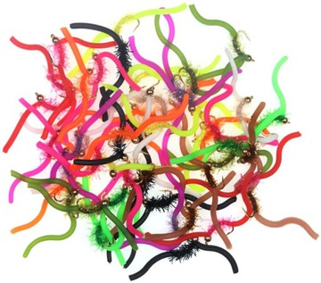 10x Fly Nymf Hook 10 Parkinson Trout Lipień
