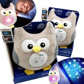 BEAR Projector OWL uspávanky POZITÍVNE SLEEPER PL