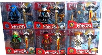 Ninja Golden Dragon Bricks Set Obrázok X 6
