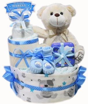PAMPERS CAKE, plienkový darček