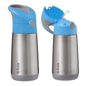 Inovatívna termo fľaša B.box so slamenou fľašou 350