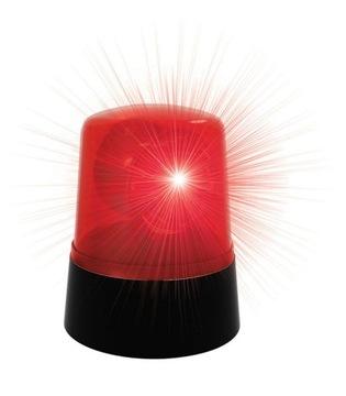 LED Rooster Red Policajná strana
