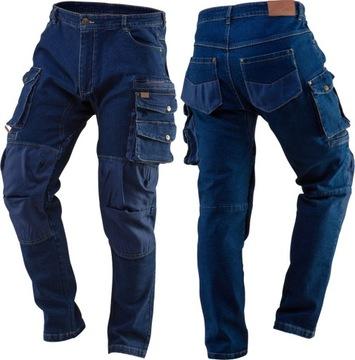 Neo Jeans Stretch nohavice 5 vrecká XL