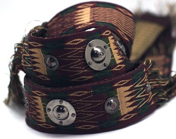 Guitar Guitar Belt Aztec / Etnický štýl