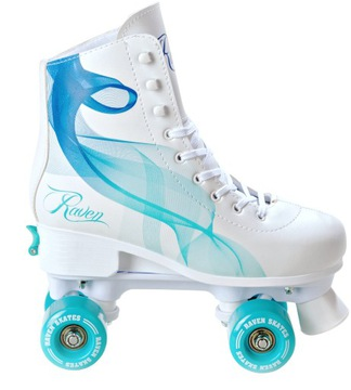 RAVEN Serena Mint 31-34 Nastaviteľné kolieskové korčule