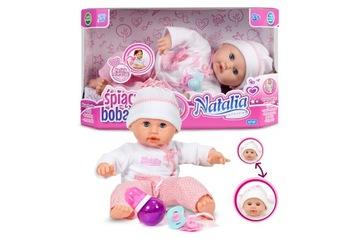 INTERAKTÍVNA BABKA NATALIA SLEEPING BOBBY PL