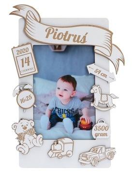 Rám Detská potlač Narodeninový darček 10x15
