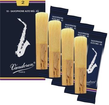 ALTO Saxofónová hlava 2 Vandoren Set 4 ks.
