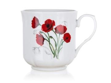 Veľký hrnček Bowl Cup keramika Poppies 560 ml