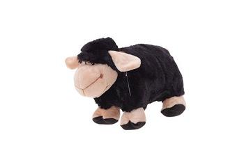 Skladací vankúš čierna ovca jahňacie jahňacie