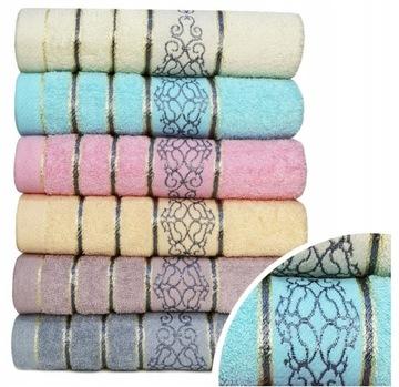 Súprava uterákov Fote 6x 50x100 hrubé uteráky