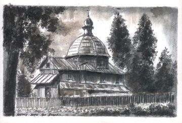 Radruż - bývalá pravoslávna cirkev. Svätý Santa Claus Cudotor