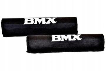 16-palcové kryty barov a rámov BMX (čierne)