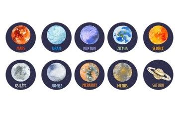 Magnetové magnety pre chladničku chladničky planéty