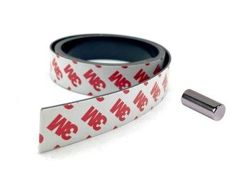 3M magnetická páska Samolepia 25 mm / 1,5 mm / 1m