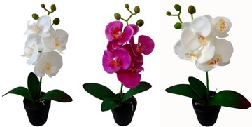UMELÝ ORCHID orchidey kvet ORCHID 38cm