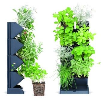 Záhradné vertikálne kvetináče Zelená stena