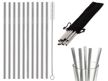 Striehacie kovové skúmavky Metal Eco X10 CLEAR