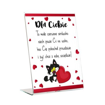 Valentína Deň Plaxi Frame Lovers Milujem ťa srdce