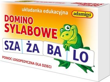 Logopedická pomôcka SYLAB DOMINO GAME 04812