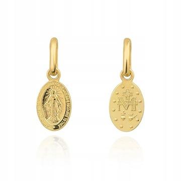 Nádherná zlatá medaila pr. 333 SCAPULAR MADONNA