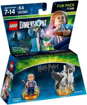 LEGO Dimensions 71348 Hermiona Grangerová - zábavné balenie