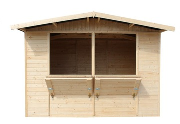 Timbela M150 Obchodný dom, drevený kiosk - 6m²
