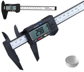 Elektronický digitálny LCD MALIPER MERANIE 15 CM