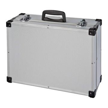 Hliníkový kufrík na zariadení alebo 46x33x16 disky